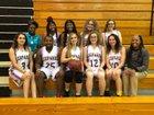 Hernando Leopards Girls Varsity Basketball Winter 18-19 team photo.