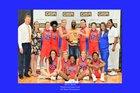 Westwood Wildcats Girls Varsity Basketball Winter 18-19 team photo.