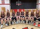 Mount Calvary Christian  Girls Varsity Basketball Winter 18-19 team photo.