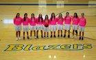 Valley View Blazers Girls Varsity Basketball Winter 18-19 team photo.