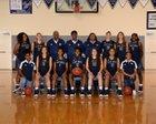 Hickory Ridge Ragin' Bulls Girls Varsity Basketball Winter 18-19 team photo.