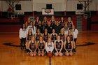 Pea Ridge Blackhawks Girls Varsity Basketball Winter 18-19 team photo.
