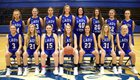 Crocker Lions Girls Varsity Basketball Winter 18-19 team photo.