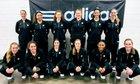 St. Agnes Academy Tigers Girls Varsity Basketball Winter 18-19 team photo.