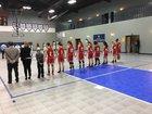 Morningside Academy Eagles Girls Varsity Basketball Winter 18-19 team photo.