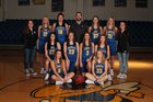 Mountain View Yellowjackets Girls Varsity Basketball Winter 18-19 team photo.