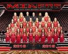 Park City Miners Girls Varsity Basketball Winter 18-19 team photo.