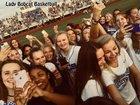 Presbyterian Christian Bobcats Girls Varsity Basketball Winter 18-19 team photo.