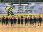 Pueblo County Hornets Girls Varsity Basketball Winter 18-19 team photo.
