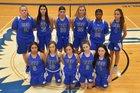 Conwell-Egan Catholic Eagles Girls Varsity Basketball Winter 18-19 team photo.