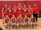 Kankakee Valley Kougars Girls Varsity Basketball Winter 18-19 team photo.