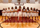 Rio Rico Hawks Girls Varsity Basketball Winter 18-19 team photo.