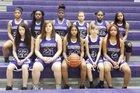 Indianapolis Washington Continentals Girls Varsity Basketball Winter 18-19 team photo.