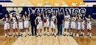 Walnut Mustangs Girls Varsity Basketball Winter 18-19 team photo.