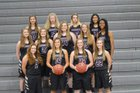 Bauxite Miners Girls Varsity Basketball Winter 18-19 team photo.