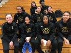 Garey Vikings Girls Varsity Basketball Winter 18-19 team photo.