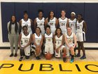 Northfield Nighthawks Girls Varsity Basketball Winter 18-19 team photo.