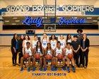 Grand Prairie Gophers Girls Varsity Basketball Winter 18-19 team photo.