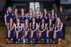 Gateway Christian Warriors Girls Varsity Basketball Winter 18-19 team photo.