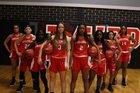 Middleburg Broncos Girls Varsity Basketball Winter 18-19 team photo.