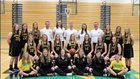 Northridge  Girls Varsity Basketball Winter 18-19 team photo.