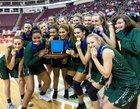 Trinity Shamrocks Girls Varsity Basketball Winter 18-19 team photo.