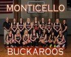 Monticello Buckaroos Girls Varsity Basketball Winter 18-19 team photo.
