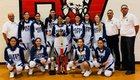 Silver Fighting Colts Girls Varsity Basketball Winter 18-19 team photo.