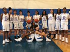 Kent-Meridian Royals Girls Varsity Basketball Winter 18-19 team photo.