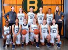 Bellarmine Prep Lions Girls Varsity Basketball Winter 18-19 team photo.