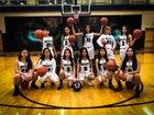 Westminster Wolves Girls Varsity Basketball Winter 18-19 team photo.