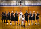 Plano Reapers Girls Varsity Basketball Winter 18-19 team photo.