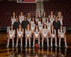 Siloam Springs Panthers Girls Varsity Basketball Winter 18-19 team photo.