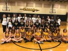 D'Iberville Warriors Girls Varsity Basketball Winter 18-19 team photo.