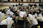 North Rangers Girls Varsity Basketball Winter 18-19 team photo.