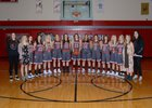 Sundance Bulldogs Girls Varsity Basketball Winter 18-19 team photo.