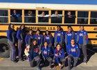San Antonio Memorial Minutemen Girls Varsity Basketball Winter 18-19 team photo.