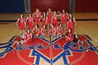 Melbourne Bearkatz Girls Varsity Basketball Winter 18-19 team photo.