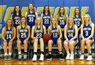 Norton Bluejays Girls Varsity Basketball Winter 18-19 team photo.