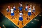 Mulberry Panthers Girls Varsity Basketball Winter 18-19 team photo.