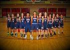 Sahuaro Cougars Girls Varsity Basketball Winter 18-19 team photo.