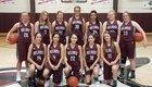Melrose Buffaloes Girls Varsity Basketball Winter 18-19 team photo.