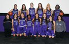 Rincon/University Rangers Girls Varsity Basketball Winter 18-19 team photo.