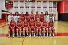 Penfield Patriots Girls Varsity Basketball Winter 18-19 team photo.