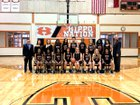Hutto Hippos Girls Varsity Basketball Winter 18-19 team photo.