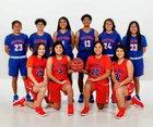 Westwood Warriors Girls Varsity Basketball Winter 18-19 team photo.