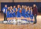 East Mountain Timberwolves Girls Varsity Basketball Winter 18-19 team photo.