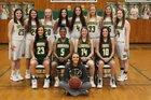 Wonderview Daredevils Girls Varsity Basketball Winter 18-19 team photo.