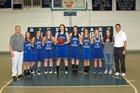 River Oaks Mustangs Girls Varsity Basketball Winter 18-19 team photo.