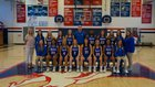 Ingomar Falcons Girls Varsity Basketball Winter 18-19 team photo.